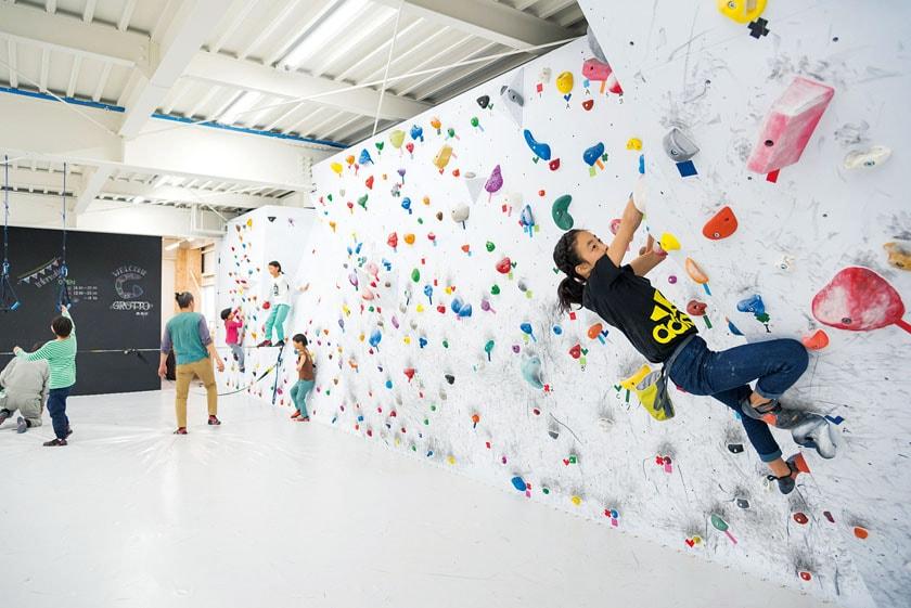 GROTTO(グロット)bouldering gym メイン画像