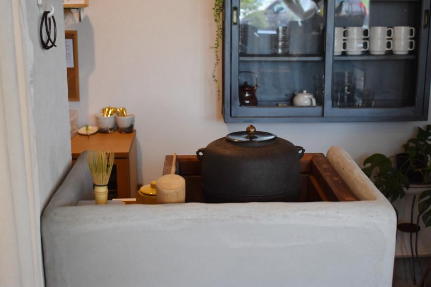 8/18にオープンしたばかりカフェ「□△ときどき○」は茶釜珈琲と、米粉ケーキが絶品です。