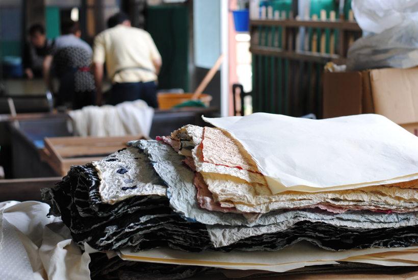 越前和紙づくりの最前線! 長田製紙所(越前市今立地区)でジモト工場見学してきたよ。
