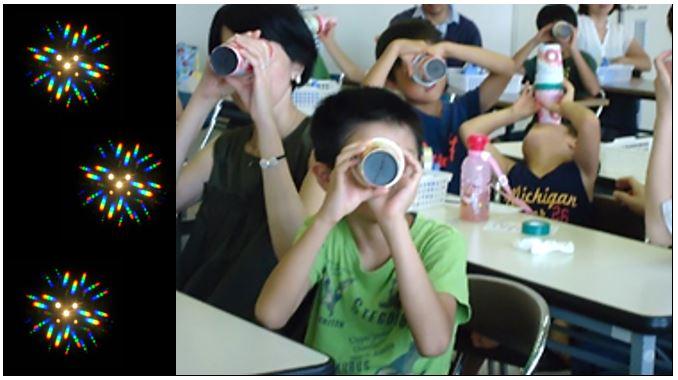 【親子工作教室】きれい!びっくり、光の万華鏡作って遊ぼう