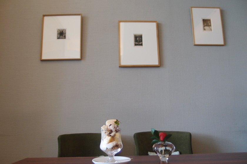 【開催済】芸術 & スイーツの秋、見~つけた! 福井市の美術館喫茶室 ニホ で「駒井哲郎版画展」開催中(12/16まで)。
