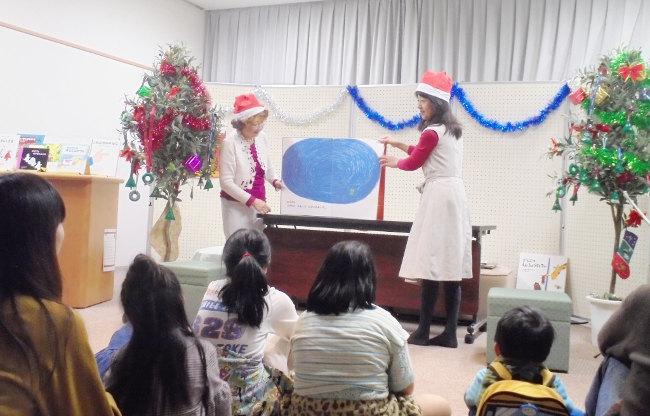 クリスマスおはなしのつどい(桜木図書館)