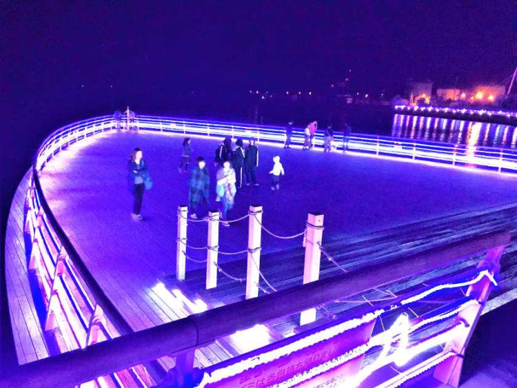 敦賀港のイルミネーション「ミライエ」は、わざわざ行く価値めっちゃアリ! 12月25日まで。