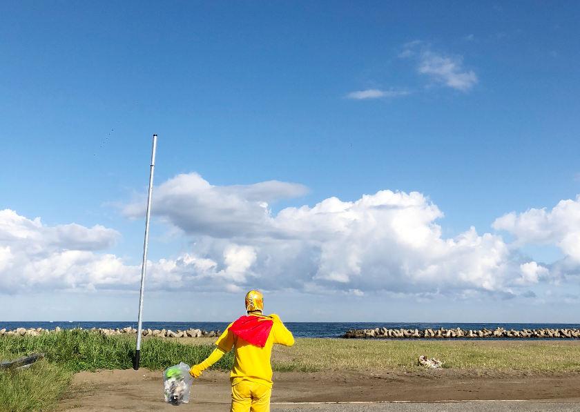 黄色いヒーロー、福井に現る…!? 「はっぴーすマン」って知ってる?
