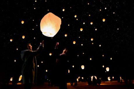 さかだに雪まつり前夜祭 星降るランタンナイト~日本一美しい星空に願いを込めて~