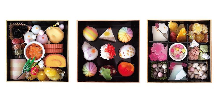 食べてびっくり! お正月を彩る和菓子の「スイーツおせち」が、老舗菓子店「御素麵屋」で誕生したよ!