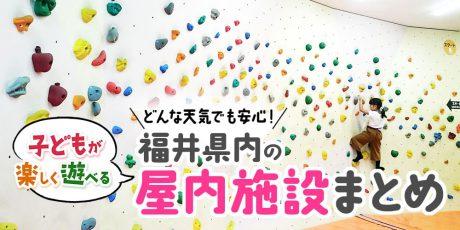 雨でも安心! 子どもが遊べる福井県の屋内施設まとめ【随時更新】