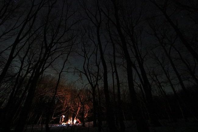 【雪不足のため中止】星あかりスノーシュー