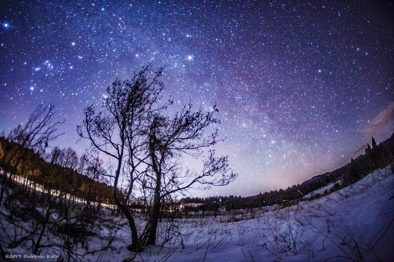 冬なのに「天の川」!? 福井県大野市の六呂師高原で見てきました!【ふくい星空写真館】