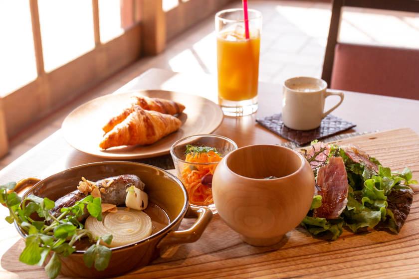 心にも体にもおいしい山のレストラン「ラ クラルテ」(福井県坂井市)は、冬こそおすすめです。