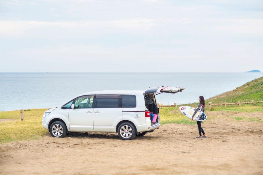 「今日も海にいます」。福井市在住 プロサーファー 神田愛子さん【私とクルマ】