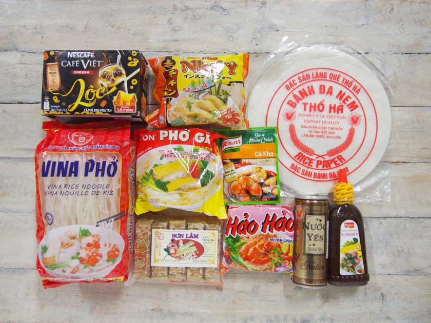 【土日祝限定】鯖江にオープンした「ベトナムショップ」に行ってきたよ。ベトナムの食料品が勢ぞろいで楽しい!