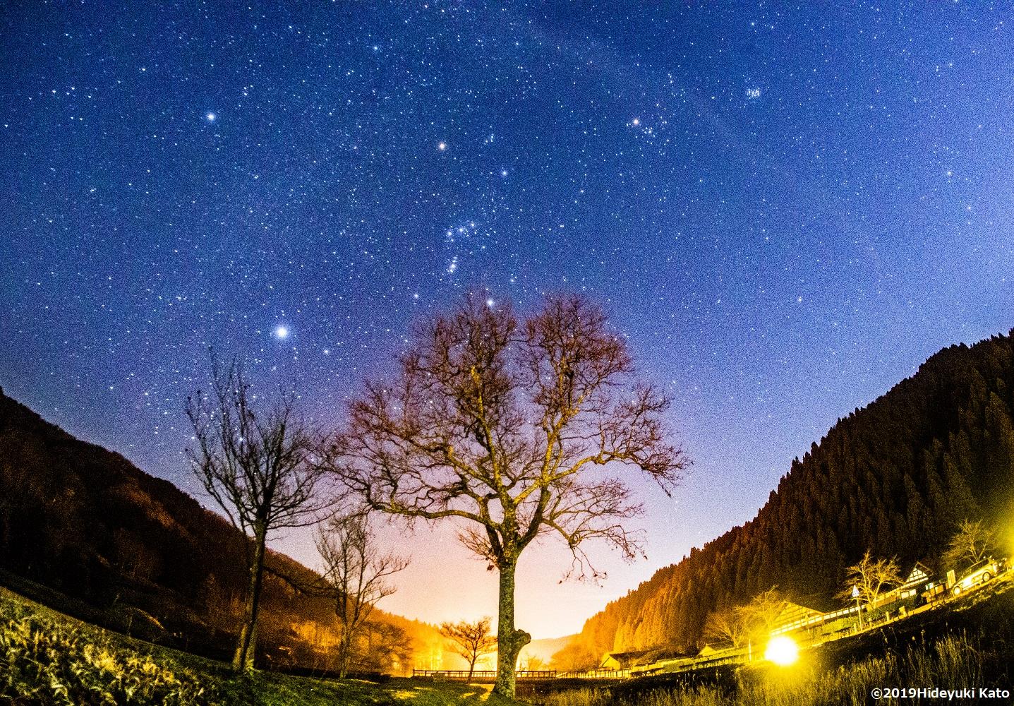 環境省お墨付きの星空! 福井県福井市の一乗谷朝倉氏遺跡で星を見てきました!【ふくい星空写真館】