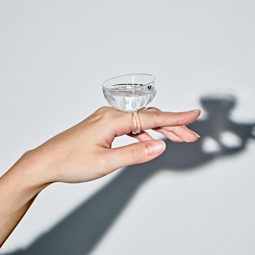 坂井市のガラス作家マエダミユキさんが制作したガラスジュエリーが新感覚でカワイイ!【3/30(土)~4/7(日)まで展示】