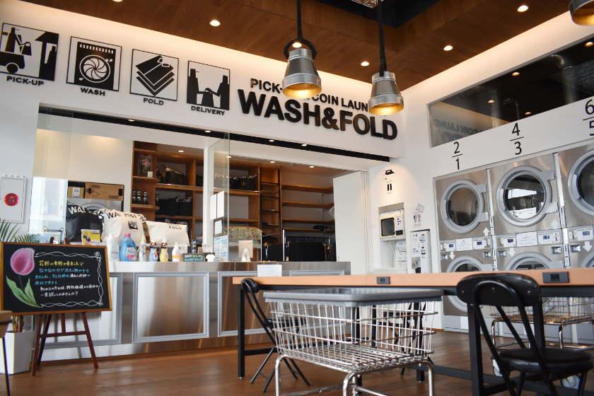 面倒な家事からおさらば! 洗濯代行サービス「WASH&FOLD」を利用して、気持ちよく新生活を始めよう。