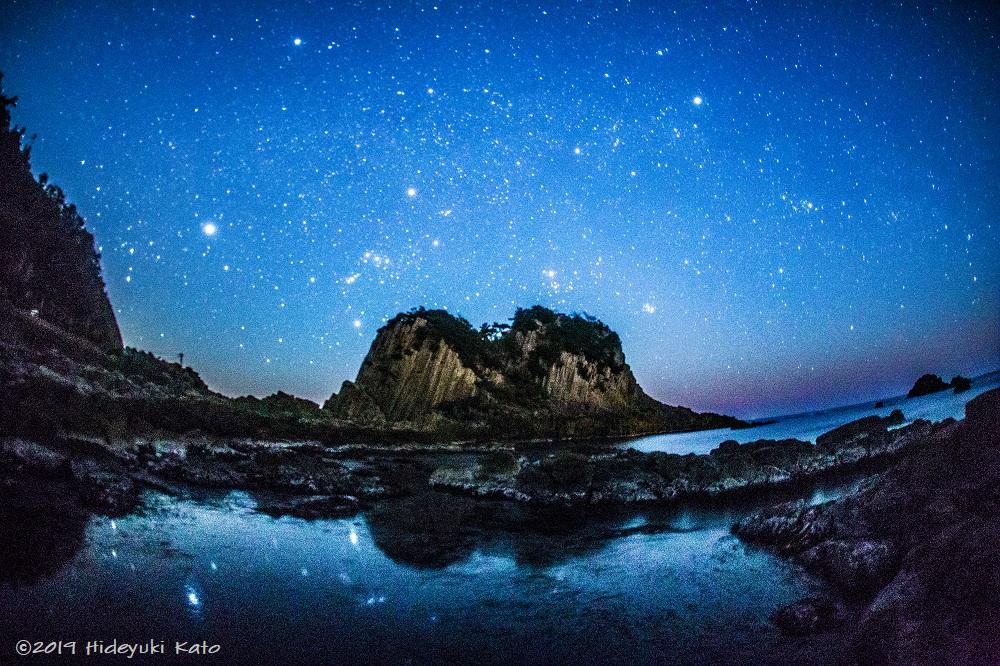 越前海岸の星空絶景! 福井県福井市の鉾島で星を見てきました!【ふくい星空写真館】