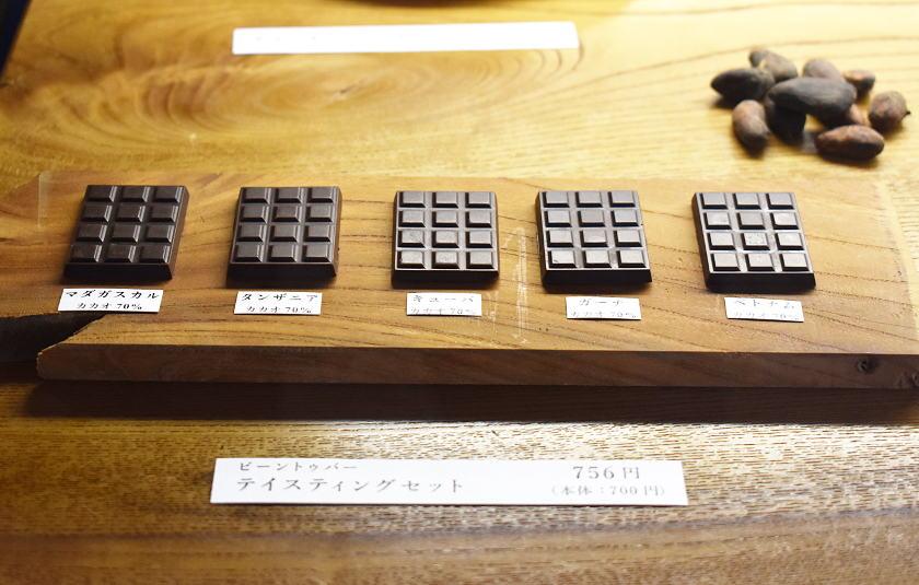足羽山に福井初のビーントゥバー専門店「山奥チョコレート 日和」がオープン。そこは『チョコレート天国』でした。