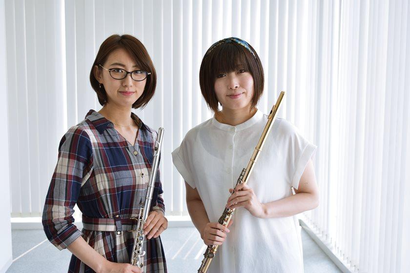 【動画あり】フルート奏者ユニット「鯖女」。メンバーが「ふーぽ」に遊びに来てくれたよ!