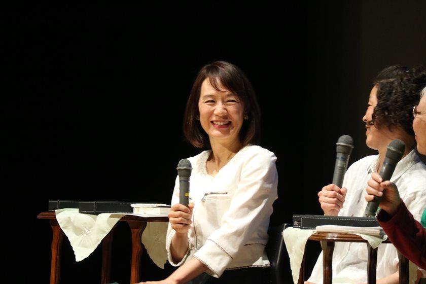 月刊fu 卒業記念! 作家・宮下奈都さんエッセー「緑の庭の子どもたち」のトークイベントは熱気MAXでした。