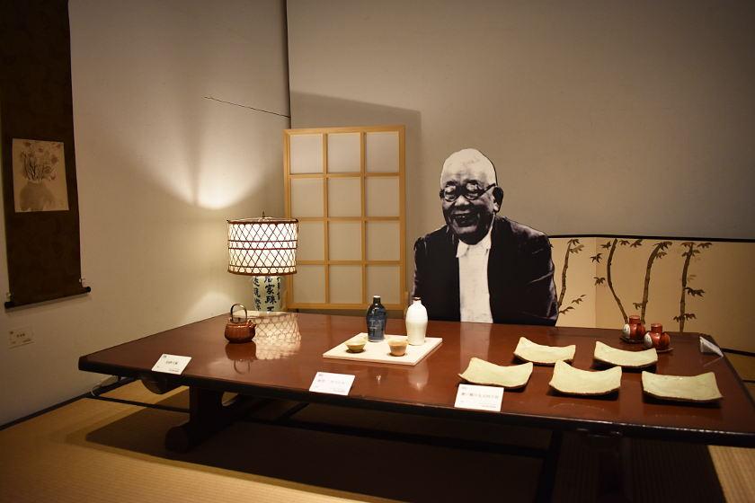 【『美味しんぼ』海原雄山のモデル】 北大路魯山人の展覧会が福井市美術館で開催中。かの「美食倶楽部」を彩ったうつわの数々は、必見です。