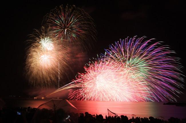 令和元年記念 第39回三国花火大会 ありがとう。昭和、平成、そして令和へ。