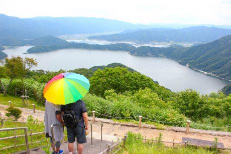 レインボーライン山頂公園を徹底ガイド!  三方五湖と日本海を望める「天空の楽園」でした♡