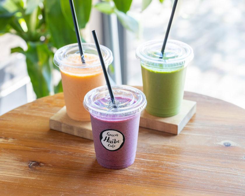 福井市の「Green Haibe Cafe(グリーンハイブカフェ)」は、野菜とフルーツの力で体の中からキレイになれるカフェですよ♡