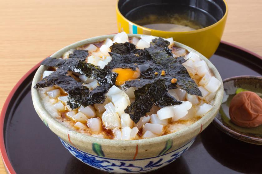 秘密のケンミンSHOW!」で紹介!! 絶品「イカ丼」は福井県