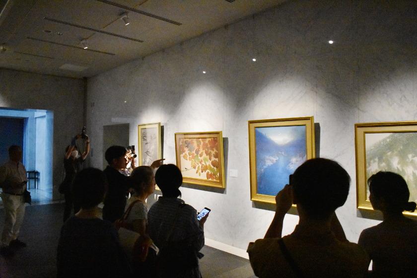 【開催済】福井県立美術館で好評開催中! 「手塚雄二展」のブロガーナイトで現代日本画の魅力を満喫してきました。