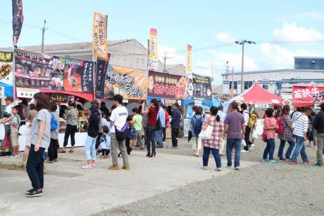 OBAMA食のまつり 屋台村と物産展