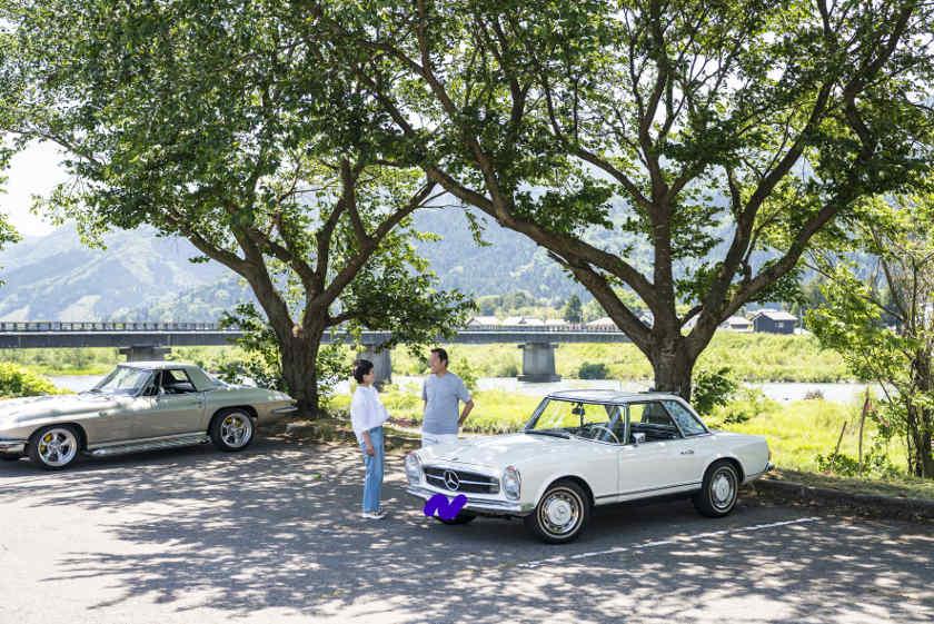 「ギャップにやられました」。福井市の教員 牧野さんの愛車はベンツ280SL【私とクルマ】