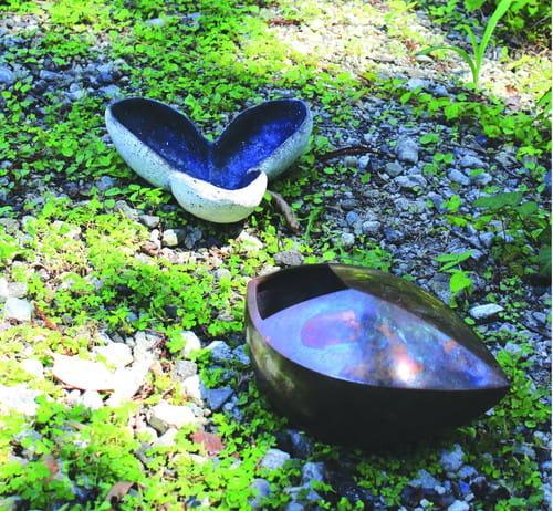 「鋳銅と陶」展