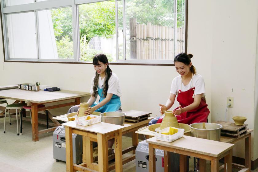 芸術の秋!福井の伝統工芸アイドル「さくらいと」と電動ろくろ体験してきたよ。