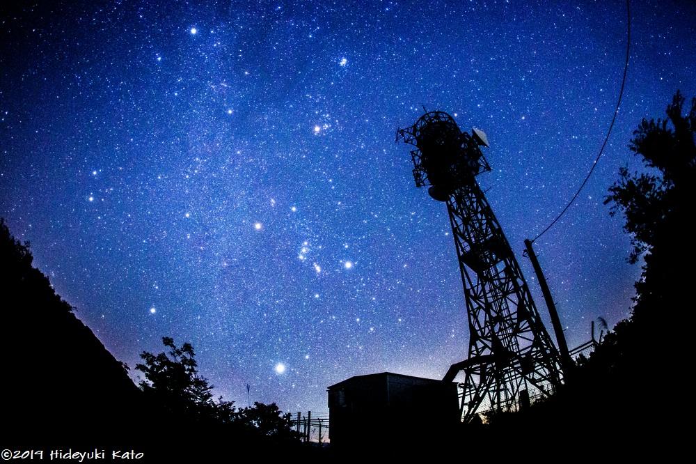 頭上を横切る天の川!永平寺町のどんぐりころころ林道で星を見てきました!【ふくい星空写真館】