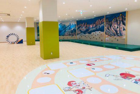 越前市のアル・プラザ武生に屋内遊び場の「てんぐちゃん広場」がオープンしたよ!