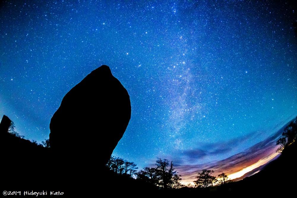 冠山の星空風景!池田町の冠山峠で星を見てきました!【ふくい星空写真館】