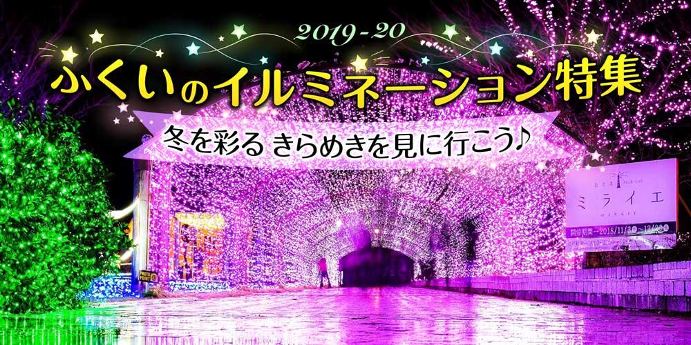 福井のイルミネーション特集2019☆冬空を美しく彩る灯りを見に行こう♪