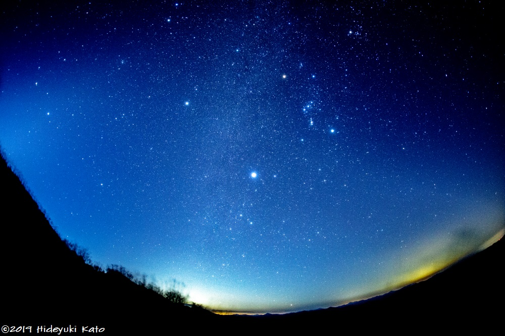 見ると長生きできる星!?池田町と大野市にまたがる部子山で星を見てきました!【ふくい星空写真館】
