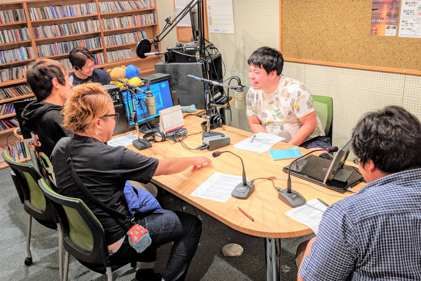 福井県住みます芸人のラジオの裏側をお届けします。【住みます芸人日記】
