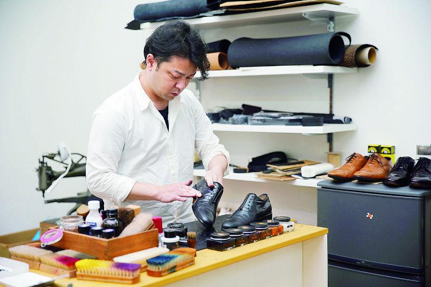 ミヤザキ靴店 4代目店主・宮崎友博さんと「クリーム」【ふくいの人と道具】