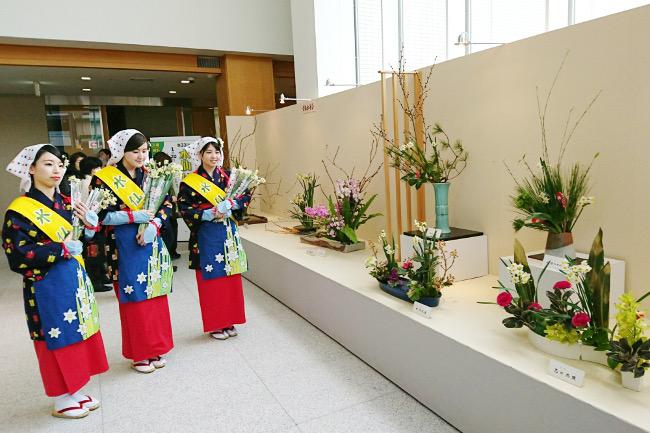 第36回ふるさとの花をいける 水仙いけ花展