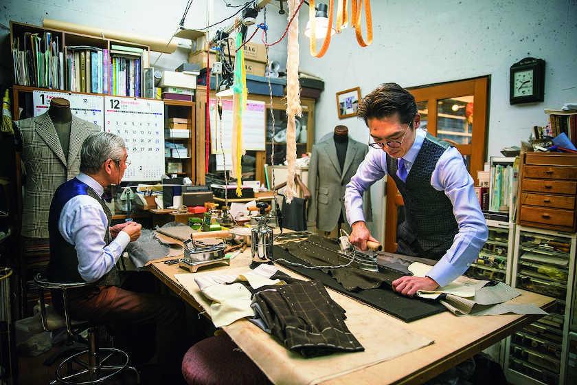 テーラーヨシダ・吉田大輔さんと「アイロン」【ふくいの人と道具】