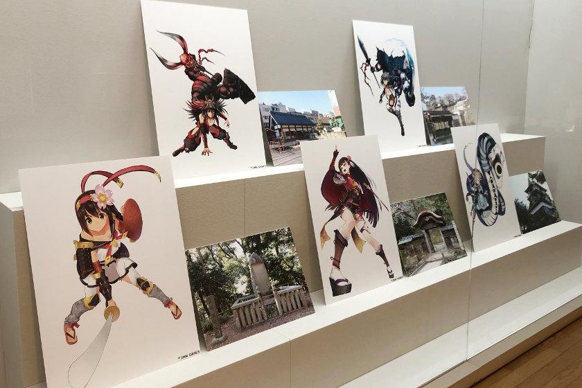 「刀剣」と「城」。福井県文書館で人気オンラインゲームが テーマの、ユニークな展示やってます!