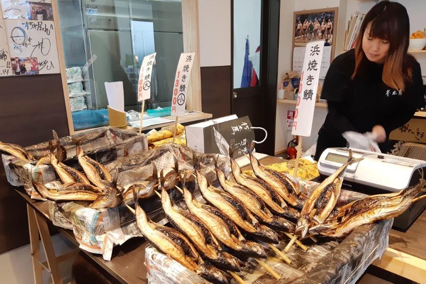 旨味たっぷりの寒鯖が味わえる小浜市の鯖専門店「朽木屋」。一度食べたら他の焼き鯖では満足できなくなるほど美味しかった♡