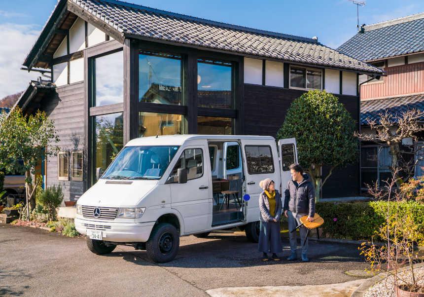 「代わりがきかない」。福井市のショップオーナー 木村さんの愛車はメルセデスベンツ スプリンターT1N 312D 4×4【私とクルマ】