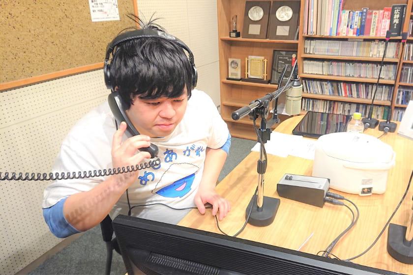 こにお!まさかの1人でラジオ出演!【住みます芸人日記】