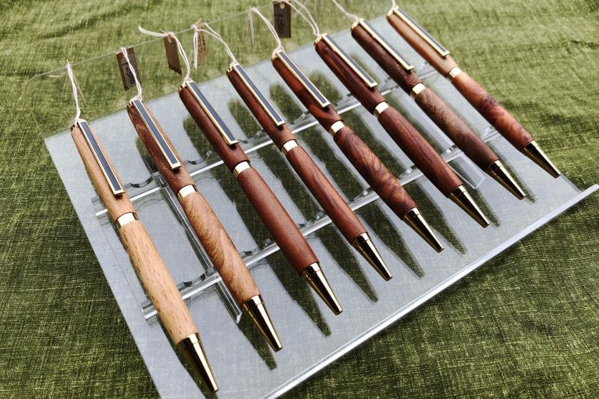 思い出の木がボールペンになって甦る。世界に一つだけのペンに仕立ててくれる工房を見つけました!