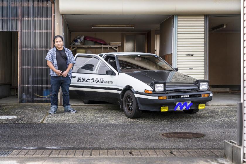「乗るならハチロク」。鯖江市の会社員 玉村さんの愛車はトヨタスプリンタートレノAE86【私とクルマ】