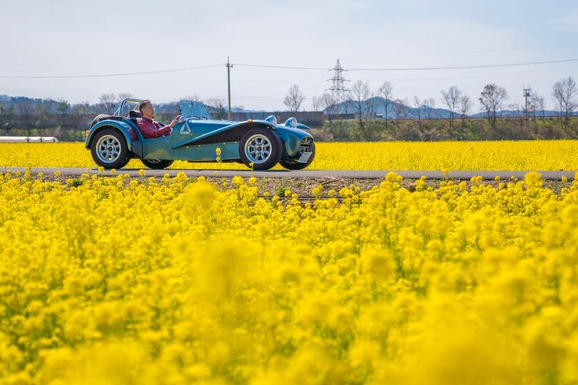 「夢も満開です」。福井市の自営業 辻さんの愛車はケーターハム・スーパーセヴン1700 スーパースプリント【私とクルマ】