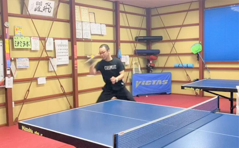 カリマンタンむ〜ちゃんが福井県の強豪卓球クラブで卓球してきました! ~前編~【福井よしもと芸人日記】